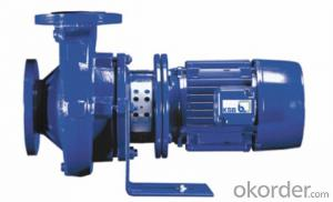 Etabloc,Close-coupled, single-stage volute casing pump