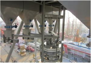 Tower type dry mortar mixing plant,Accurate, stabile and reliable dosage system