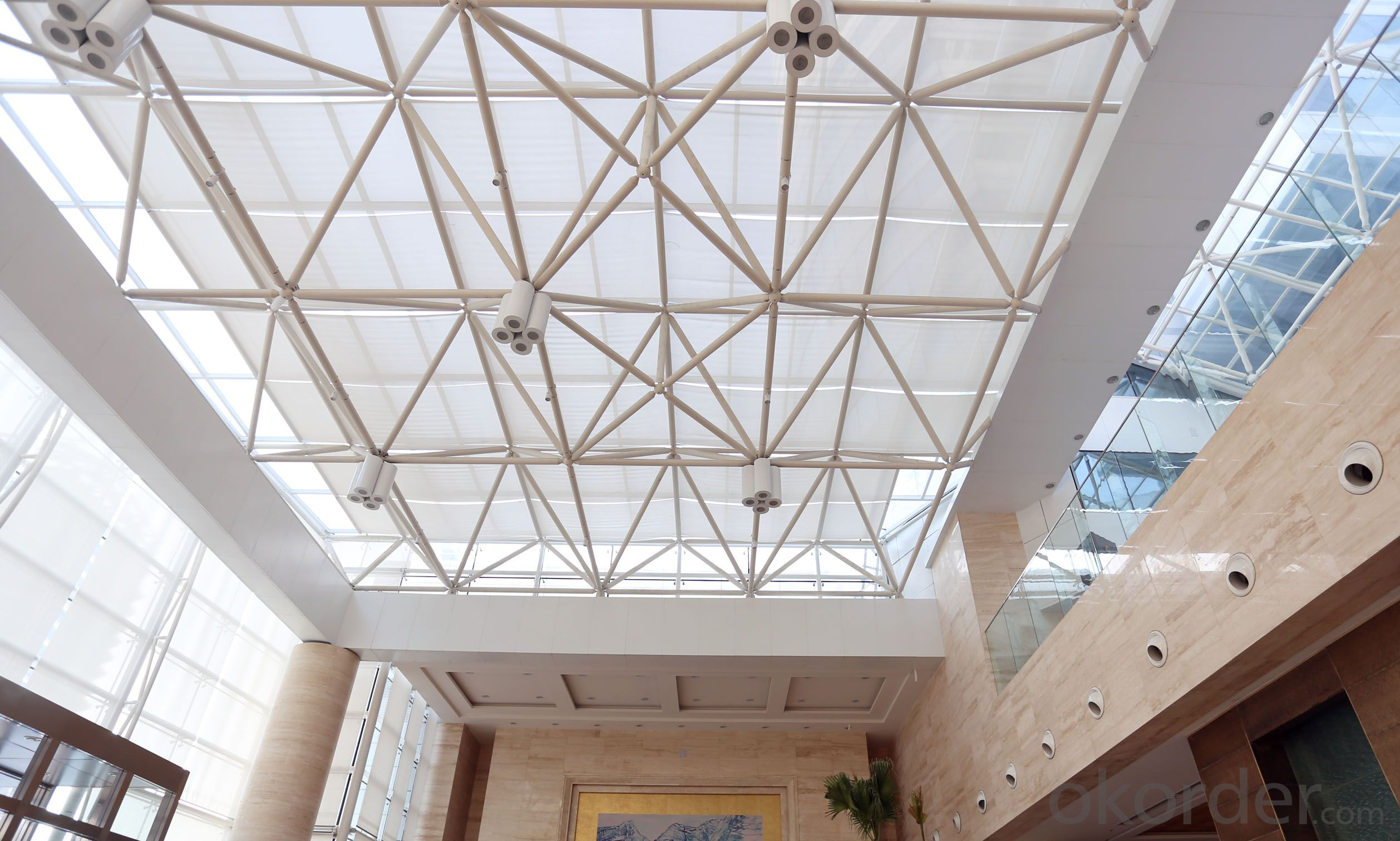 FSS Fabric Ceiling Awning for slope canopy