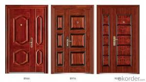 Standard Steel Security Doors for Buildings