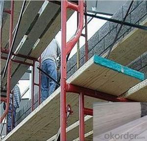Pine LVL Scaffolding Wood Plank  OSHA Certificate