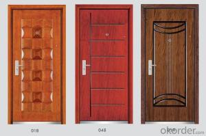 Steel Wooden Armored Doors with Good Prices and Quality