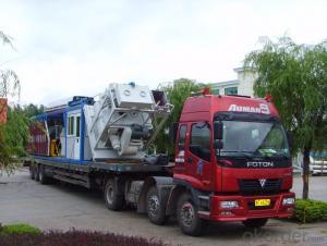 Module Type Mobile Concrete Batching Plant