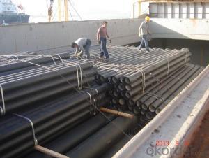 ductile iron pipeDN150 C40 Socket Spigot pipe