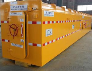 Zhongmei brand Rescue Cabin for underground mining