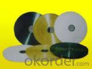 Hot stamping ribbons for cable and wire