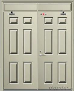 industrial Fire security door made in china