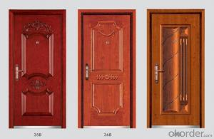 Steel Wooden Armored Doors with Different Designs