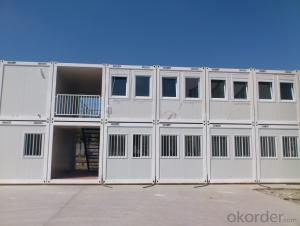 Cheapest modern prefabricated container house for sale