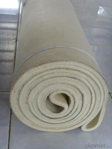 Needle punched wool felt /carpet / fabrics for mattress and sofa