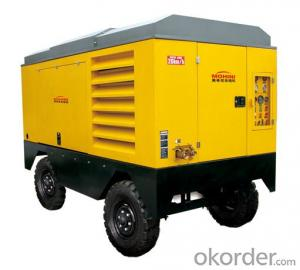 Zhongmei brand Screw Air Compressor mobile type