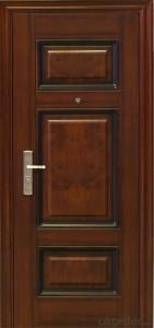 new design Cheap Steel Security Door with good quality