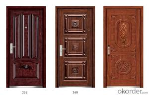 Steel Wooden Armored Doors for Houses and Flats