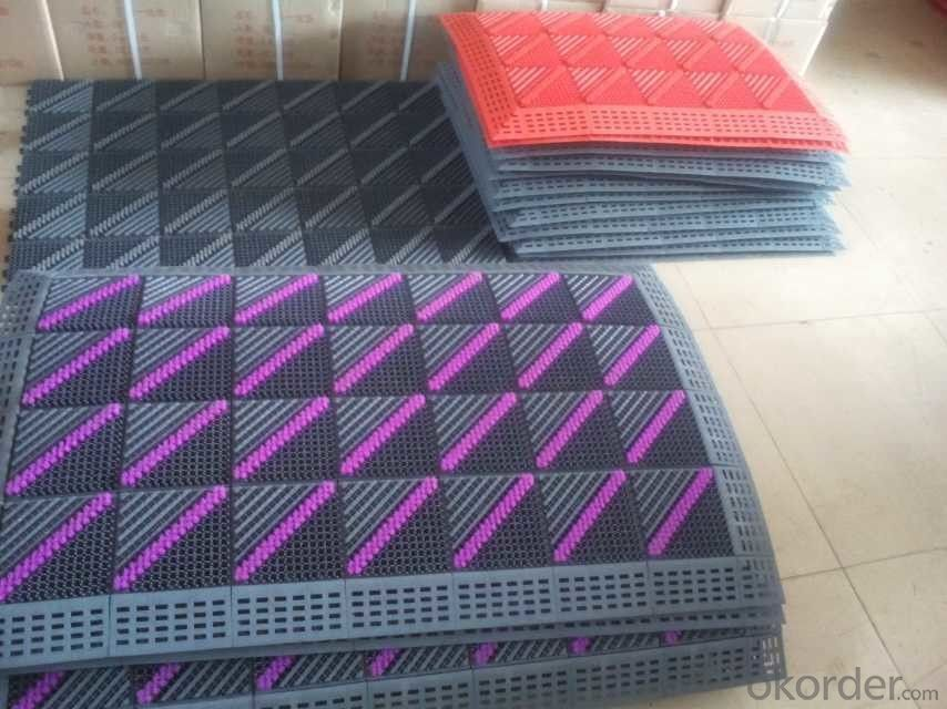 Multimaterials Bathroom Mats, Various Sizes