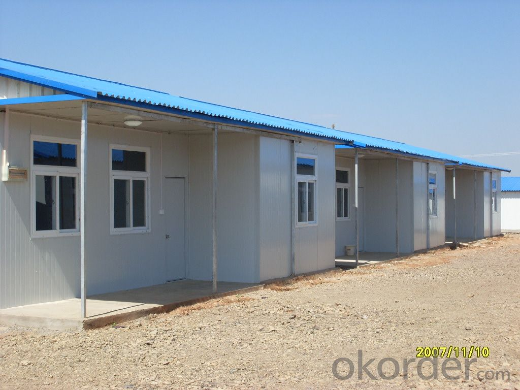 Prefabricated House Sandwich Panel Steel Structure Labor House