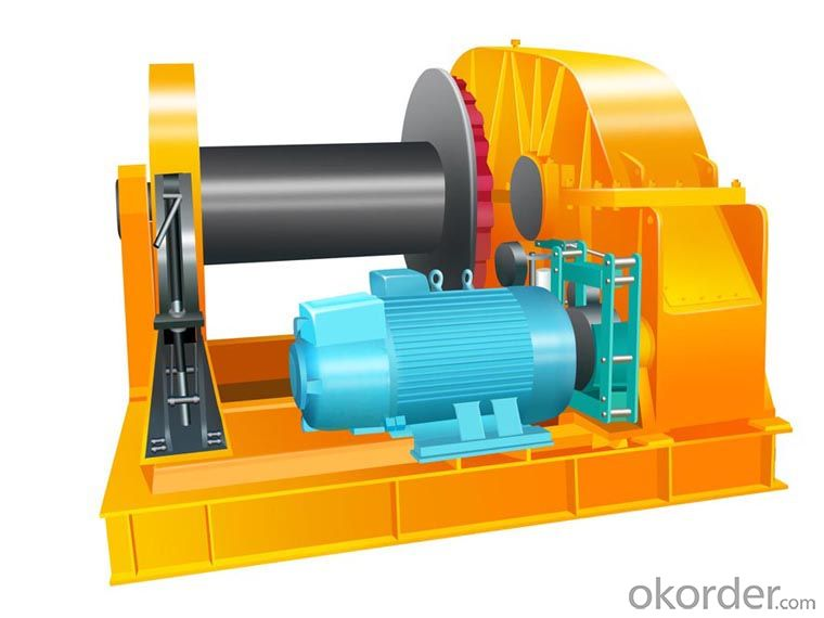 Zhongmei brand JK Electric Winch with Remote Control