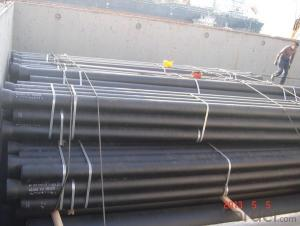 K Type Ductile Iron Pipe DN400 C30 SOCKET SPIGOT PIPES