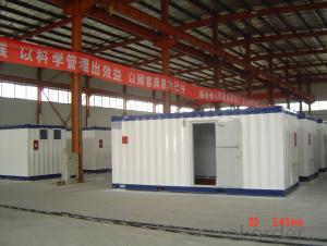 Container House Sandwich Panel Steel Structure 20ft
