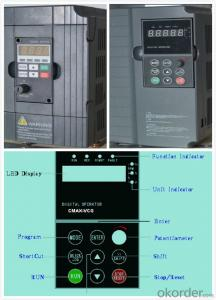 Variable Frequency Drive 3 phase 5.5kw 380V