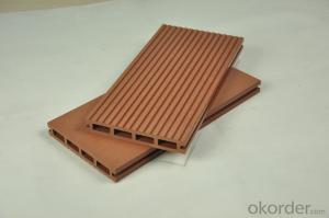 Wood Plastic Composite Decking for different items