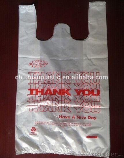 t-shirt thank you plastic bag good quality