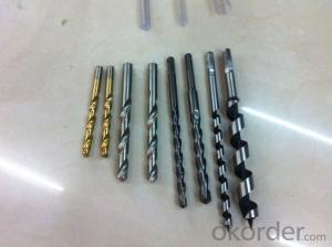 High quality straight shank twist drill bits for grey cast iron