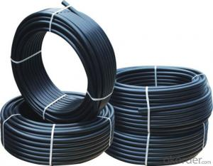80MM 100MM 125MM  HDPE PLASTIC PIPE CNBM MANUFACTURER