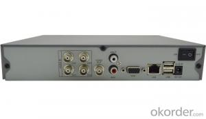 4CH Full D1 H.264 DVR with Huawei Hisilicon Chipset 3515A