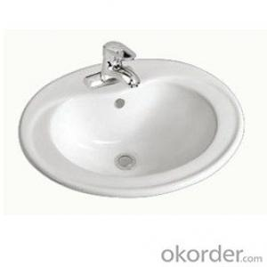 sanitary ware above counter basin for bathroom