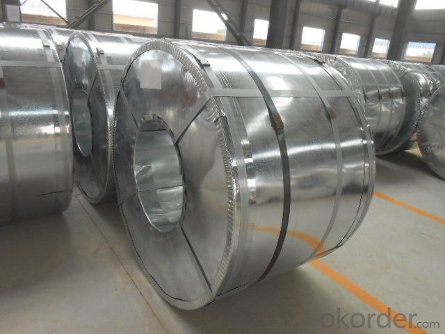 Prime Galvanized steel coil zinc coating 120g/m2