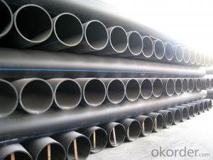 HDPE100 plastic pe pipe for water supply