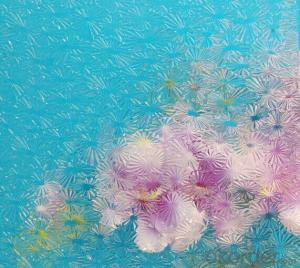 Temperable grade -clear pattern glass-Floralite