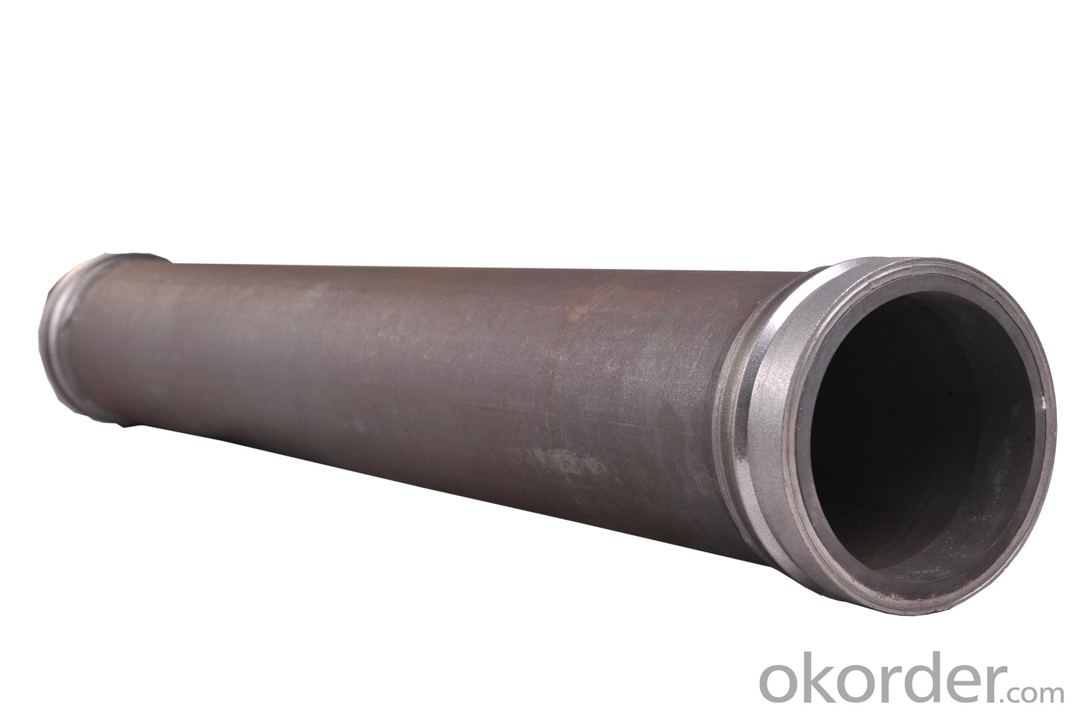 Twin Wall Pipe for Concrete Pump Pipe Thickness 7mm Length 3000mm