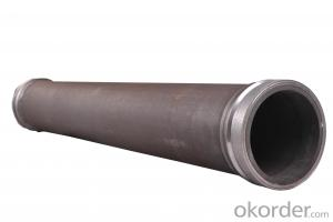 Twin Wall Pipe for Concrete Pump Pipe Thickness 7mm Length 2000mm