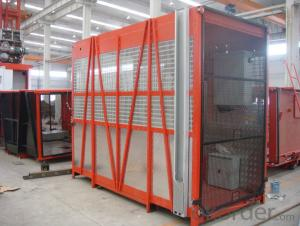 double cage 2*1200kgs electric lift SC120/120G