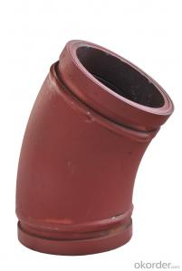 Twin Wall Elbow for Concrete Pump R275 30DGR