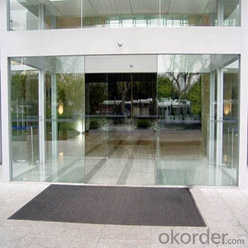 Glass Sliding Automatic Doors for Fashion Design