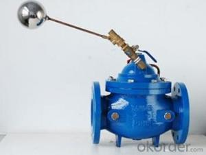 DN450 Ductile Iron Remote control float valve BS Standard