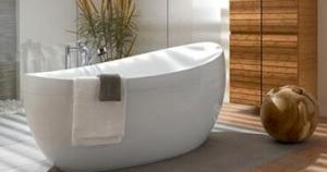 Itlian Solid Surface Bathroom Bathtub PB1003