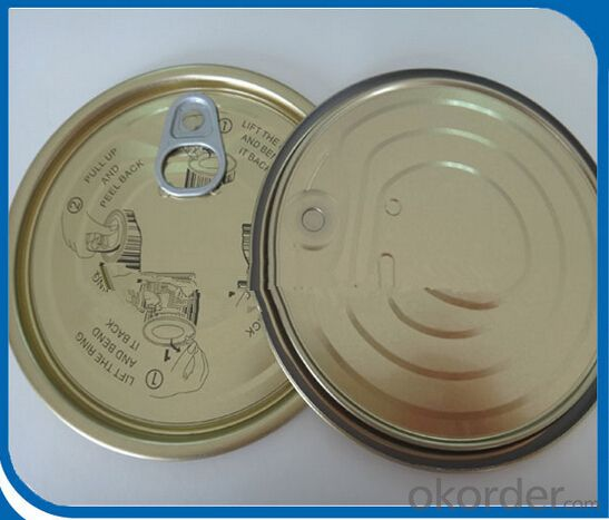 Tomato paste canned food package can good quality