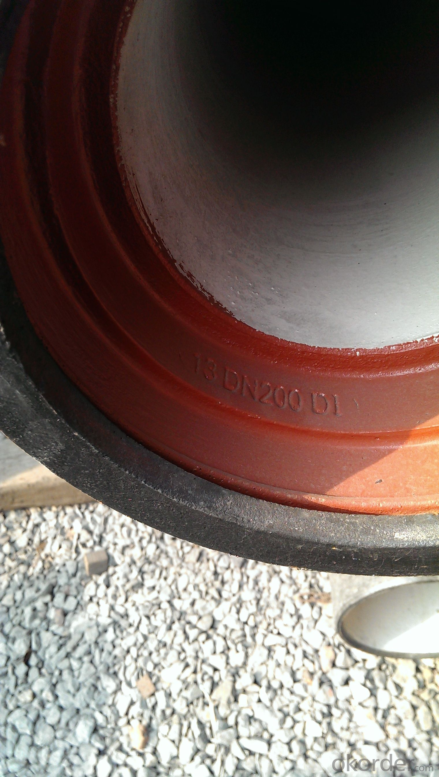 DUCTILE  IRON PIPES  PIPE FITTINGS K7 CLASS DN500