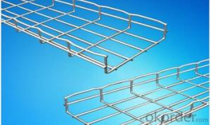 hot dip galvanized steel wire mesh cable tray