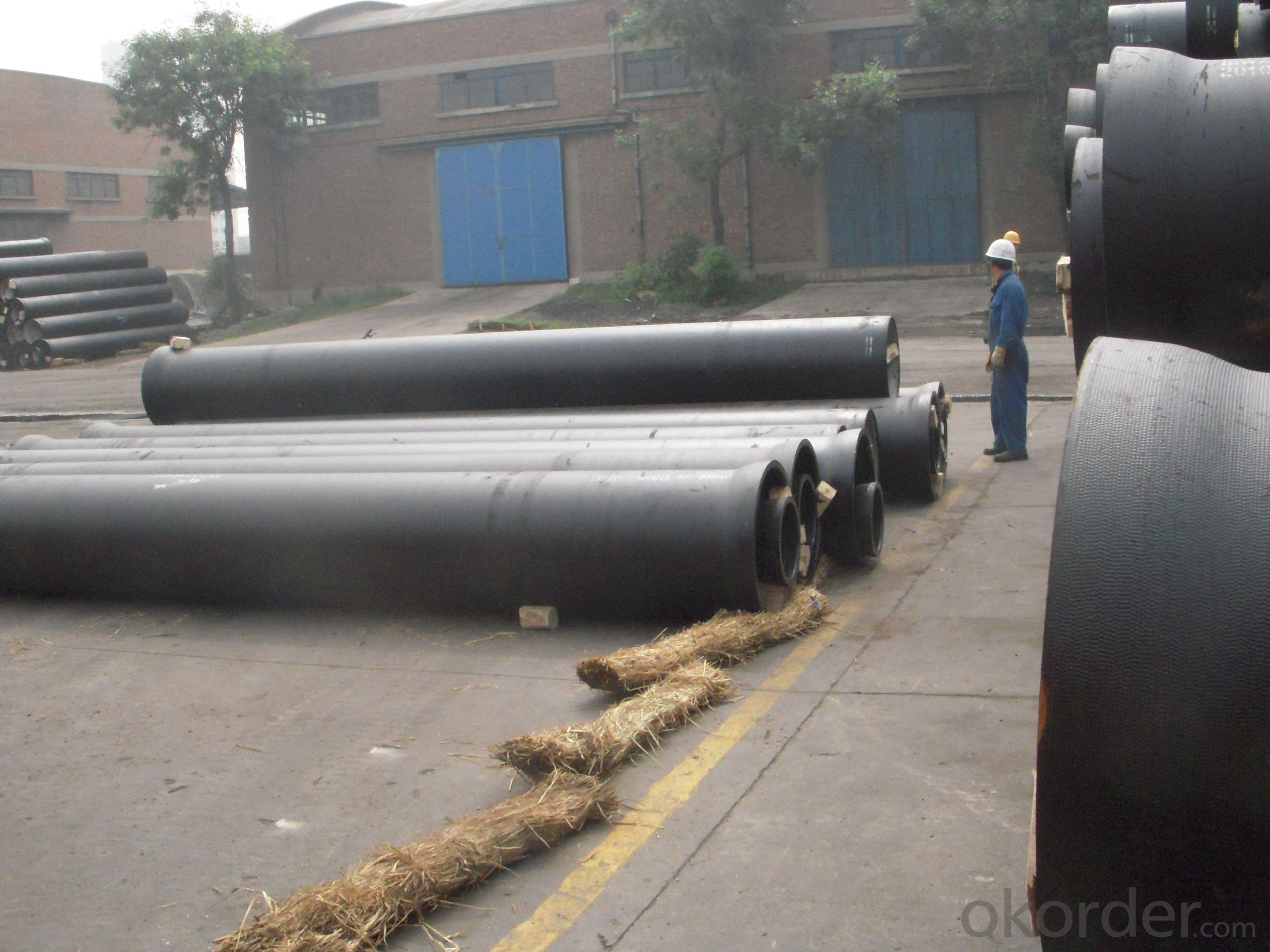 DUCTILE  IRON PIPES AND PIPE FITTINGS c30 CLASS DN450
