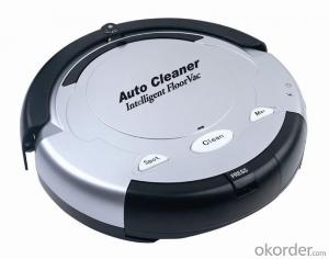 Robot Vacuum Cleaner  smart appliance  with UV light