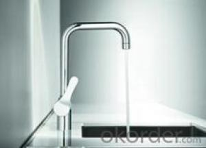 Bend shape design basin faucet stainless quality