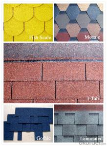 China asphalt roof shingle good supplier