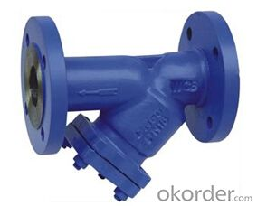 DN150  DUCTILE IRON STRAINER BS STANDARD