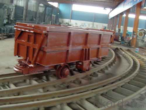 Zhongmei brand Mine Wagon With Wheel Pairs