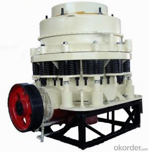 Zhongmei brand Cone crusher for mining site