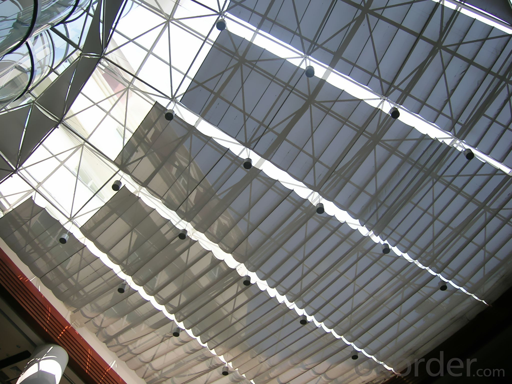 Buy Fcs Folding Skylight Blinds System For Indoor Sunshade